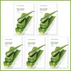[NATURE REPUBLIC]ネイチャーリパブリック リアルネイチャー マスクシート アロエ 5枚 Real Nature Mask Sheet Aloe 5 sheets