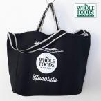 Yahoo!wooleys mart[WHOLE FOODS MARKET] ホールフーズマーケット 2WAY トートバッグ・エコバッグ・オーガニックバッグ ショッピングバッグ ブラック Juco Tote