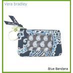 [Vera Bradley]ヴェラ・ブラッドリー IDケース 定期券入れ /Blue Bandana  (メール便発送) PASMOケース べラブラッドリー