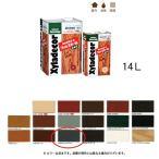 大阪ガスケミカル 木材保護塗料油性 キシラデコールフォレステージ #309 シルバグレイ 14L[取寄]