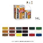 大阪ガスケミカル 高耐久性木材保護塗料水性造膜 キシラデコールコンゾラン #503 チーク 14kg[取寄]