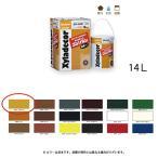 大阪ガスケミカル 高耐久性木材保護塗料水性造膜 キシラデコールコンゾラン #515 スプルース 14kg[取寄]