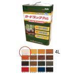 和信化学工業 環境対応木材保護塗料 ガードラックPro GP-12 ホワイト 4L [取寄]