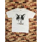 かわいい イラスト Tシャツ 犬 犬雑貨  チワワ 手描き風  猫とネコ犬