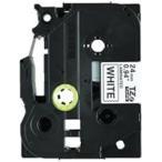 brother ブラザー工業 文字テープ/ラベルプリンター用テープ 〔幅:24mm〕 5個入り TZe-251V 白に黒文字