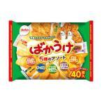 (まとめ)栗山米菓 ばかうけアソート〔×10セット〕