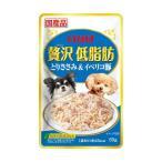 (まとめ)贅沢低脂肪 とりささみ&イベリコ豚 (ペット用品・犬フード)〔×96セット〕