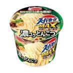 (まとめ)エースコック スーパーカップ MAX濃コクとんこつ 120g 1ケース(12食)〔×2セット〕