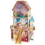 キッドクラフト ディズニー プリンセスベルのファンタジードールハウス KidKraft Disney Princess Belle's Fantasy Dollhouse ディズニー 家具13点付 木製 かわ