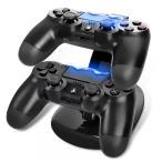 ショッピングPS PS4コントローラー用 充電スタンド 2台同時に充電可能 PS4 Slim&PS4 Pro対応