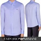 プライスダウン/エンポリオアルマーニ EMPORIO ARMANI メンズ シャツ 3Y1C16 1NCNZ ブルー/0I50/オックスフォード/17ss