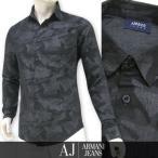 プライスダウン/アルマーニ ジーンズ ARMANI JEANS メンズ シャツ 3Y6C09 6DBAZ カモフラブラック/2206/長袖/17ss