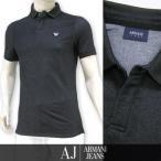 プライスダウン/アルマーニ ジーンズ /ARMANI JEANS メンズ ポロシャツ 3Y6F23 6JBLZ  ブラック/1200/ストレッチ/17ss