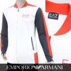 プライスダウン/エンポリオアルマーニ エアセッテ/EMPORIO ARMANI EA7 メンズ トラックジャケット 3YPMA6 PJ05Z ホワイト/1100/17ss
