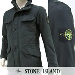 ストーンアイランド STONE ISLAND メンズ ミリタリージャケット 6515 44149 ブラック/V0029/16-17aw