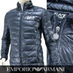エンポリオアルマーニ エアセッテ/EMPORIO ARMANI EA7 メンズ ライトダウンジャケット 8NPB01 PN29Z ネイビー/1578/16-17aw
