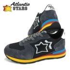 アトランティックスターズ Atlantic STARS メンズ スニーカー ANTARES AB 89C ブラック/ネイビー/17-18秋冬定番モデル