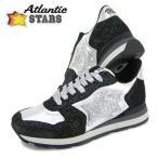 アトランティックスターズ Atlantic STARS メンズ スニーカー ANTARES SA 81N/シルバー/ブラック/1718aw