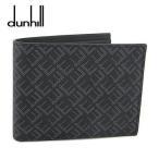 ダンヒル/dunhill メンズ 折財布/サイフ ダンヒル シグネチャー 4CC & コインパース ビルフォード DU21R2320LT/ブラック/001/21ss