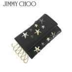ジミーチュウ JIMMY CHOO ユニセックス キーケース HOWICK LTR BLACK/METALLIC MIX/ブラック/1819aw