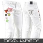 ディースクエアード DSQUARED2 メンズ ジーンズ LB0316 S39781 ホワイト/100/SKINNY JEAN/ストレッチ/18ss