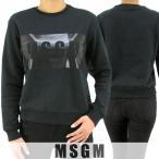 エムエスジーエム MSGM レディース スウェットシャツ MDM96 174778/ブラック/99/1718aw