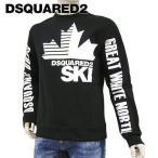 ディースクエアード/DSQUARED2 メンズ スウェットシャツ S71GU0385 S25479/ブラック/900/2021aw