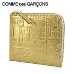 コムデギャルソン/COMME des GARCONS ユニセックス コインケース SA3100EG GOLD ゴールド/21ss