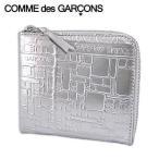4月4日 新入荷/コムデギャルソン/COMME des GARCONS ユニセックス コインケース SA3100EG SILVER シルバー/20ss
