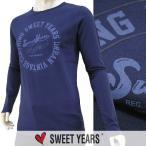 スウィートイヤーズ SWEET YEARS メンズ 長袖Tシャツ ロンT/カットソー SYU4547 ネイビー/BLU/1617aw/セール