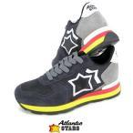 アトランティックスターズ/Atlantic STARS レディース スニーカー VEGA AB 89B/ブラック/ダークネイビー/17-18秋冬定番モデル