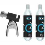 クランクブラザーズ スターリング 炭酸(CO2) ボンベセット【自転車】【アクセサリー】【携帯ポンプ】