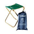simPLEISURE アウトドアチェア 折りたたみ 椅子 簡易イス コンパクト 軽量 四つ折り ポイント消化
