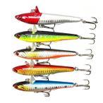 【オルルド釣具】 シンキングバイブレーション ルアー 5色セット