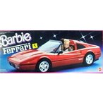 Barbie(バービー) 1987 Red Ferrari Car ドール 人形 フィギュア