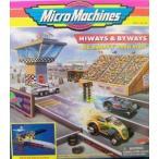 ショッピングDaddy Big Daddy's Drag Strip Micro Machines Hiways & Byways プレイセット ミニカー ミニチュア 模型 プレイ
