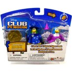 Disney ディズニー Club Penguin Series 9 Mix N Match Mini Figure Pack Blizzard Wizzard Medieval Dre