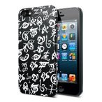 The Mortal Instruments City Of Bones Iphone 5 Case Black And White Runes by Underground Toys TOY
