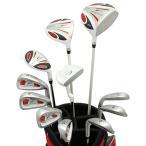ワールドイーグル 5Z-WHITE メンズゴルフクラブ14点フルセット レッドバッグVer. 右用 送料無料