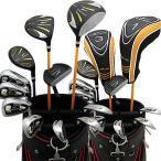 ワールドイーグル WE-5Z  ブラック + G510カードバッグ メンズゴルフクラブ14点フルセット 右用  送料無料