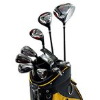 送料無料 初心者 ゴルフクラブセット メンズ ワールドイーグル F-01αクロスモデル メンズ14点ゴルフクラブセット 右用 CBX007