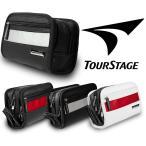 人気ブランドのポーチ スポーツ時に!普段使いに!ツアーステージ TOUR STAGE メンズ用ラウンドファスナーポーチ TS-RFP0418