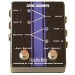 ショッピングSelection Carl Martin (マーティン) Route Box Dual A/B Box for Double Instrument/Amp Selection