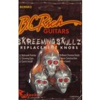 BC Rich Guitars Skreeming Skullz Skull Knob 3 パック