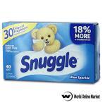 スナッグル 乾燥機用柔軟シート blue sparkle 40シート Snuggle