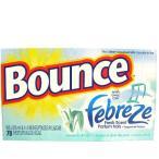 bounce with febreze 乾燥機用柔軟シート Meadows&Rain 70枚 バウンス