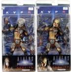 AVP エイリアンs vs. プレデター: Requiem シリーズ 2 アクション フィギュア セット of 2 (Masked & Unm