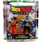 ドラゴンボール Z エイリアン Invasion アクション フィギュア 2-Pack Goku Vs. Burter [Green Package]
