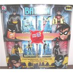 キャットウーマン Attacks バットマン 4 Pack