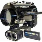Equinox HD6 High Definition Underwater Video Housing for JVC GS-TD-1 Camcorder, 250'/75m Depth